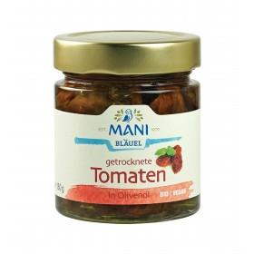 ΜΑΝΙ Getrocknete Tomaten in Olivenöl, bio, 180g Glas