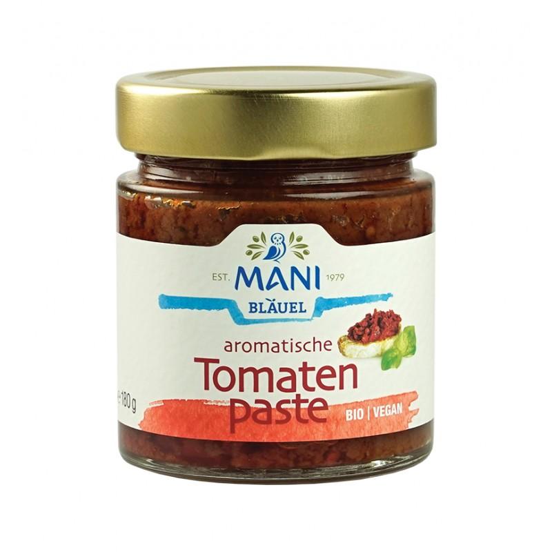 ΜΑΝΙ Tomatenpaste, bio, 180g Glas