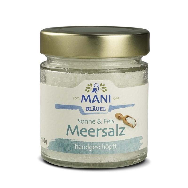 MANI Meersalz, 150g Glas