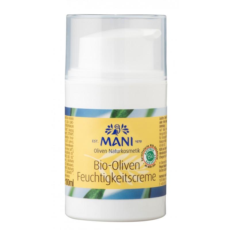 MANI Bio-Oliven Feuchtigkeitscreme, 50 g Spender