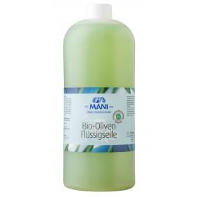 MANI Bio-Oliven Flüssigseife, 1000 ml Nachfüllpackung