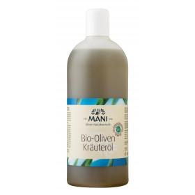 MANI Bio-Oliven Kräuteröl, 500 ml Flasche