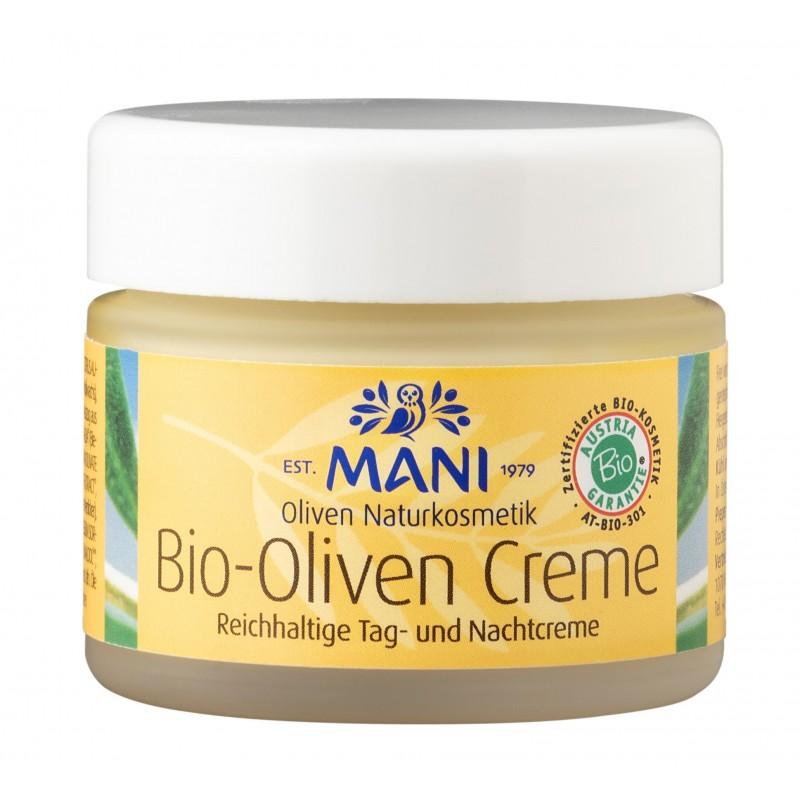 MANI Bio-Oliven Creme, 50 g Glas