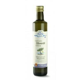 MANI natives Olivenöl extra, Kalamata g.U., bio, 0,5 l Flasche