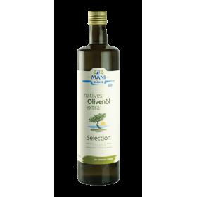 MANI natives Olivenöl extra, Selection, bio, 0,75 l Flasche