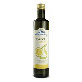 MANI Organic Olive Oil with Lemon, 0,5 l bottle